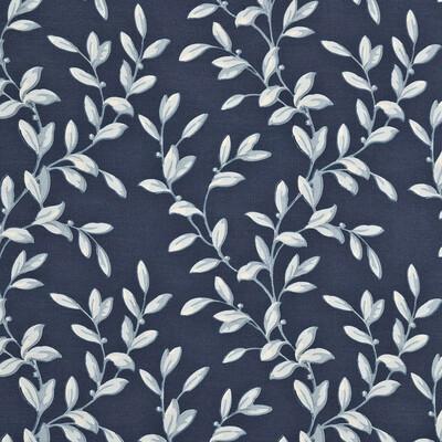 Tintinhull Leaf Print / Blue / Indigo PP50292.3