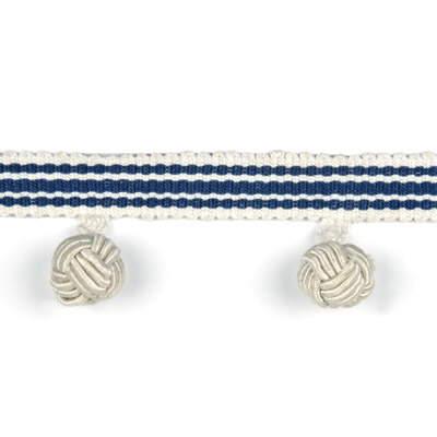 Mallow Knot Fringe / Blue PT85012.5