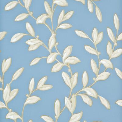 Tintinhull Leaf / Blue / Ivory PW78002.3